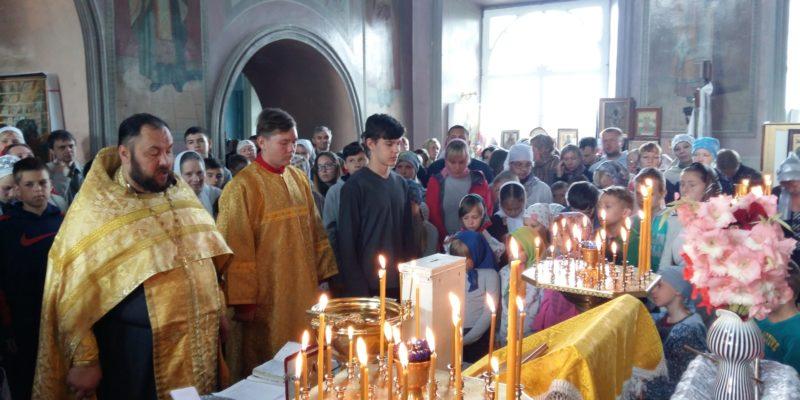 В нашем храме состоялся молебен для учащихся и учителей на начало нового учебного года