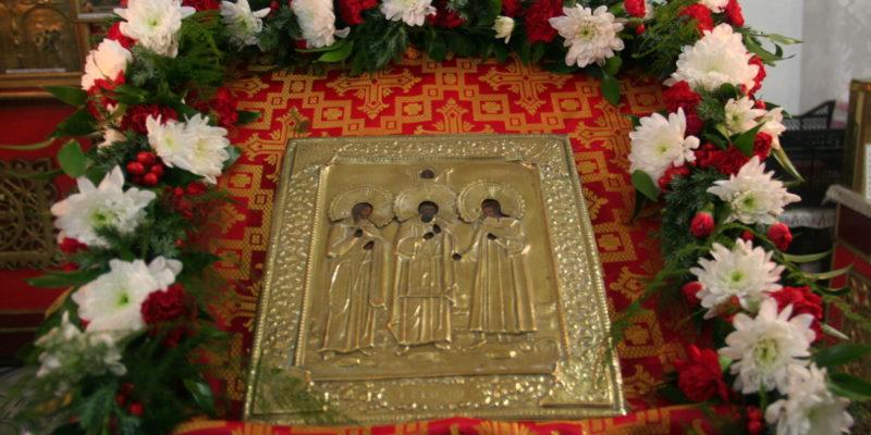 Престольный праздник святых мучеников и исповедников Гурия, Самона и Авива 2017