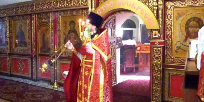 Пасха Христова — Светлая седмица в нашем храме