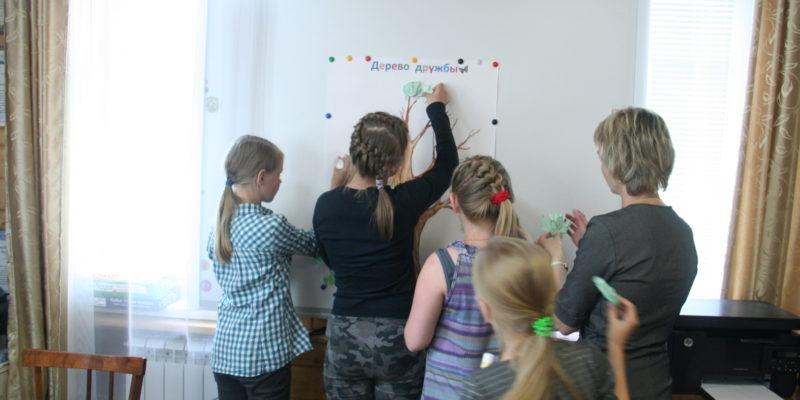 В Андреевской воскресной школе продолжается третья смена пребывания детей группы «Гармония».