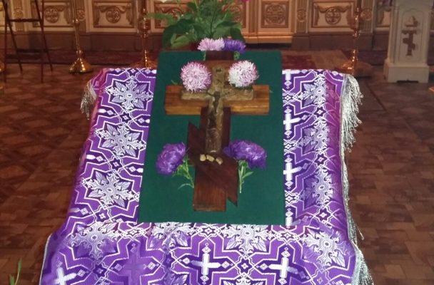 Праздник Воздвижения Честного и Животворящего Креста Господня в нашем храме